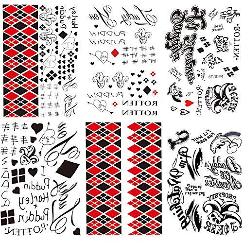 61kejxzC+KL Harley Quinn Tattoos