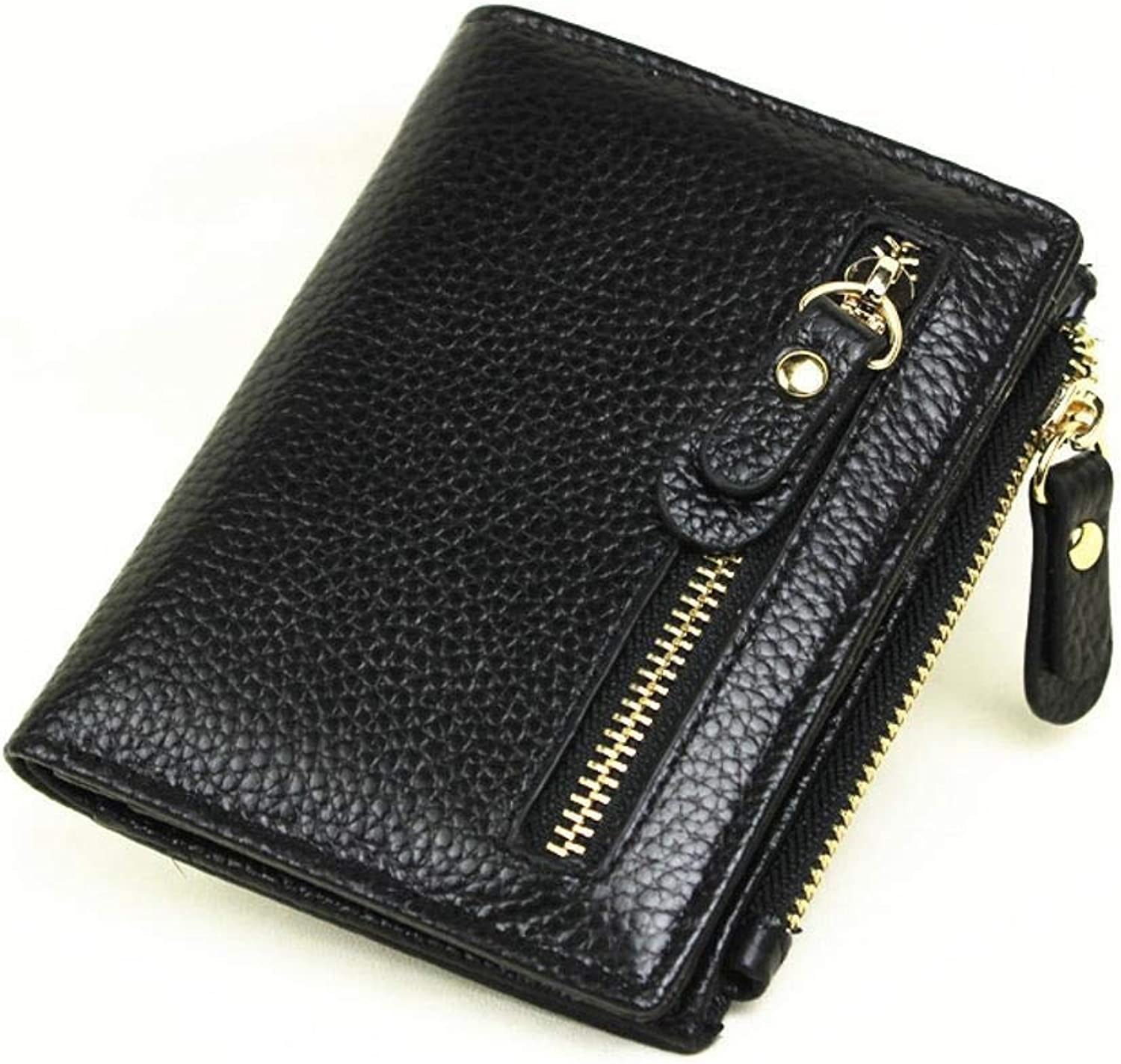 Girls Purse Lady Purse PU Leather Wallet Lady's Short 20 Percent Small Wallet Zipper Buckle Wallet
