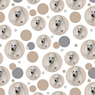 GRAPHICS & MORE Poodle Dog Breed Premium Gift Wrap Wrapping Paper Roll