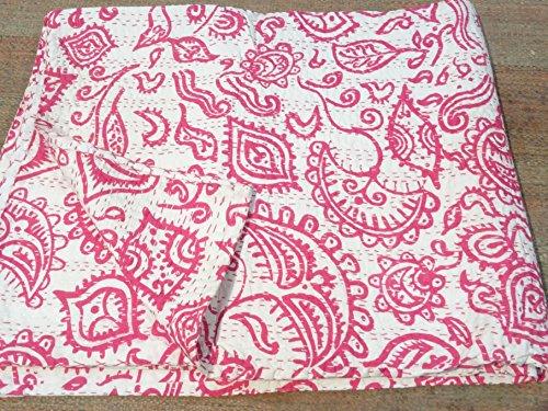Tribal Textiles asiatiques Impression Tribal Multicolore Reine Taille Couvre-lit Housse Couette Lit Couverture, X, X, X, Parure de lit Bohème x Taille 228,6 x 274,3 cm 1079