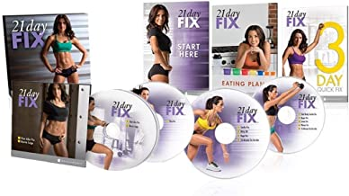 BQN Uode 21 Day Fix Workout Program 4 DVD Set with Eating Plan…
