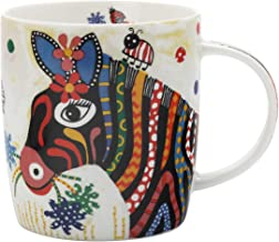 Maxwell Williams DI0096 Smile Style Colourful Animal Mug in Gift Box, Porcelain