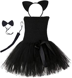 Tutu Dreams Mouse Cat Animal Costume for Girls 1-12Y Hallowen Dress Up Outfit