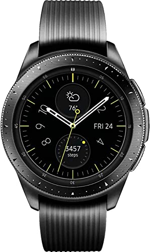 popular Samsung Galaxy wholesale Watch GPS & Bluetooth w/ 42mm Black Case & lowest Black Rubber Band online sale