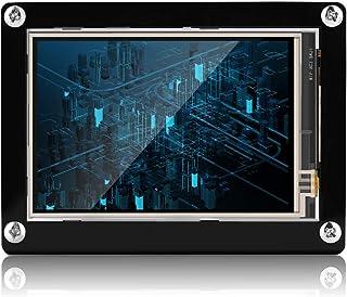 LCDスクリーン Bewinner 1080P IPS 60fps 3.5インチ HDMI LCDスクリーンディスプレイ 液晶ディスプレイ ラズベリーパイ+黒アクリルケース用