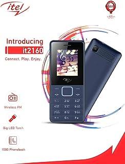 iTel it2160-1.77-inch Dual SIM Mobile Phone - Black