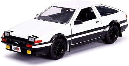 Jada 1983 Toyota Sprinter Trueno (AE86) Initial D + Figura de Takumi 1:24 Toys 99733