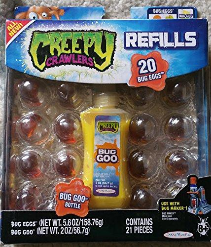 Creepy Crawlers Bug Refills Assortment 4 - Yellow