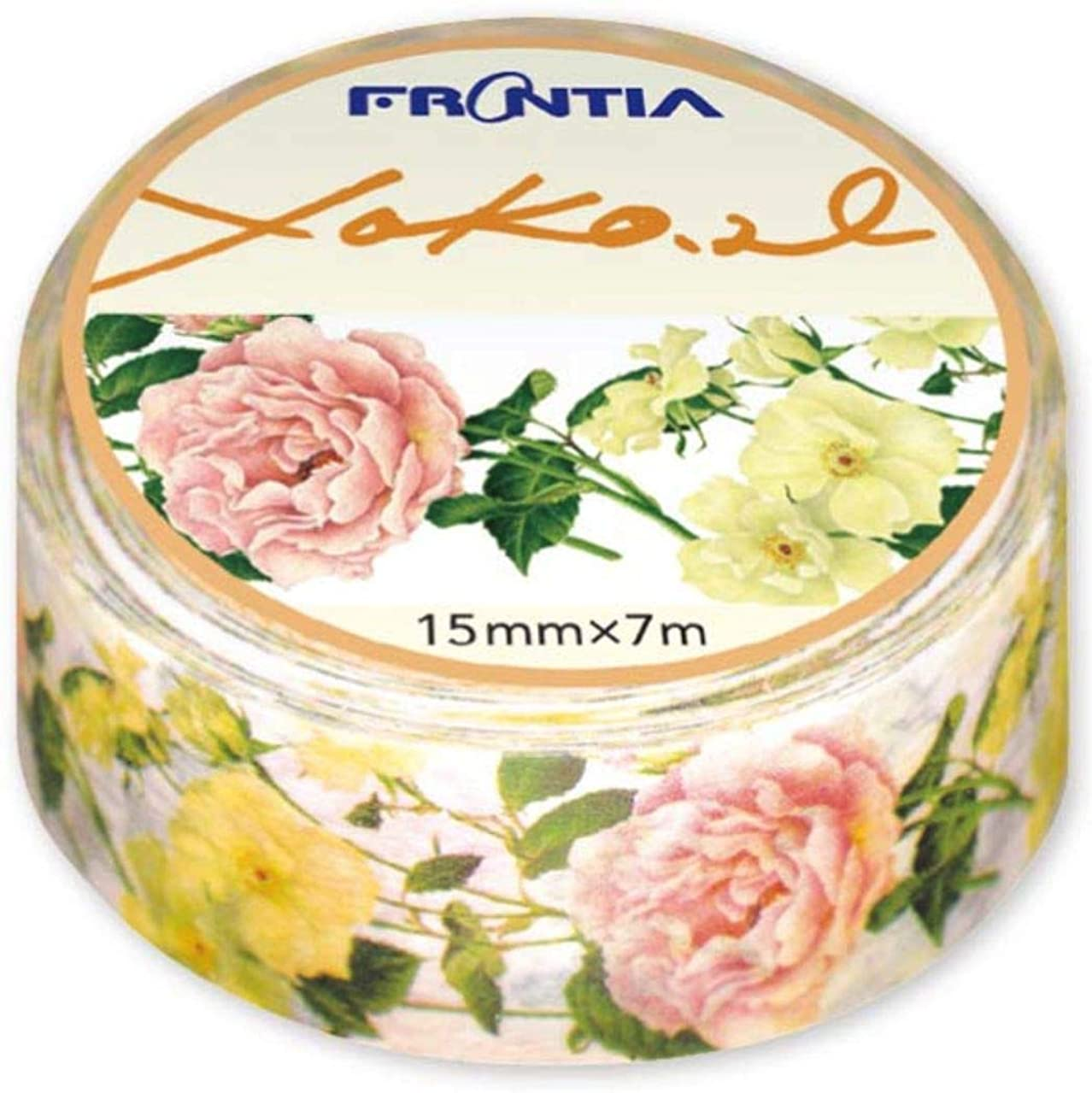 Frontia Masking Tape Flower Froral 0.6