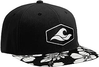 Koloa Surf Hexagon Patch Logo Solid Snapback Hats
