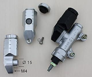 GSG Moto Bremsbehälter Schwarz hinten passend für die CBR 900 RR SC28 SC33 1992 1999 ABE