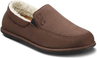 Dr. Comfort Men's Relax Chocolate Diabetic Slippers