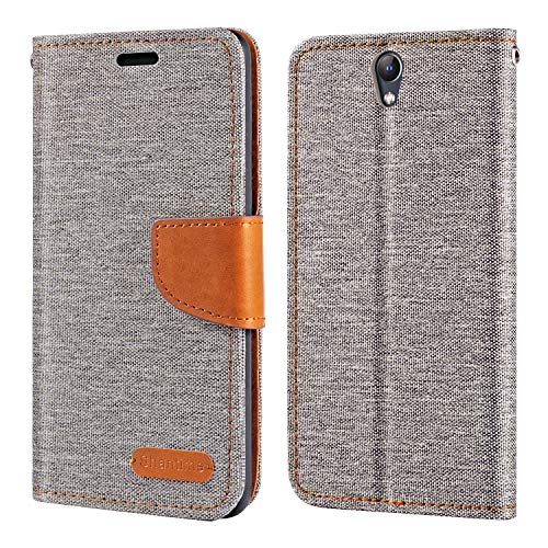 Lenovo Vibe S1 Case, Oxford Leather Wallet Case with Soft TPU Back Cover Magnet Flip Case for Lenovo Vibe S1