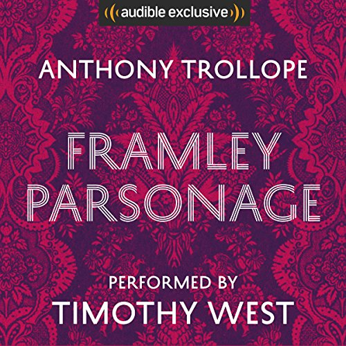 Framley Parsonage audiobook cover art