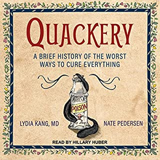 Quackery audiobook cover art