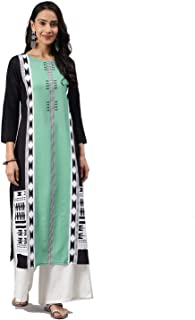 Vaamsi Women's Cotton a-line Kurta