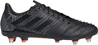 Predator Malice F36360 - Botas de Rugby, Color Negro