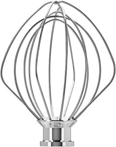 popular KitchenAid KSM5THWWSS Stainless lowest Steel popular Egg Whisk for 5KSM175Satellite Silver online
