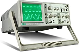 Metal gauge measuring tool MCH V-212 Dual Trace Analog Oscilloscope 20MHz 6 Inch Large Screen Dual Channels (Size : 110V)