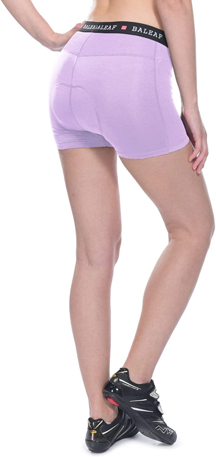 BALEAF Womens Cycling Underwear Padded Bike Shorts Biking Bicycle Mountain Bike