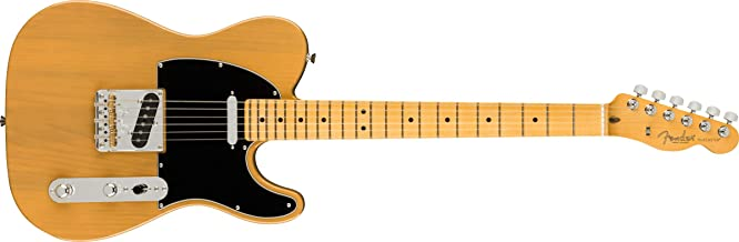 Fender American Professional II Telecaster Electric Guitar, Maple Fingerboard, Butterscotch Blonde