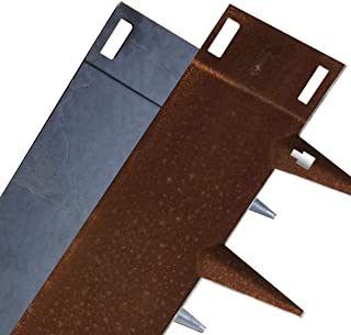 Core Edge Flexible Steel Lawn Edging CorTen 6