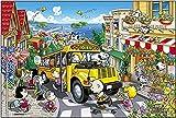 Puzzles Madera Rompecabezas 1000 Piezas,Adulto Niños s Puzzle Toy Game Building Animación de Dibujos Animados Educación Decoración, Fiesta Infantil