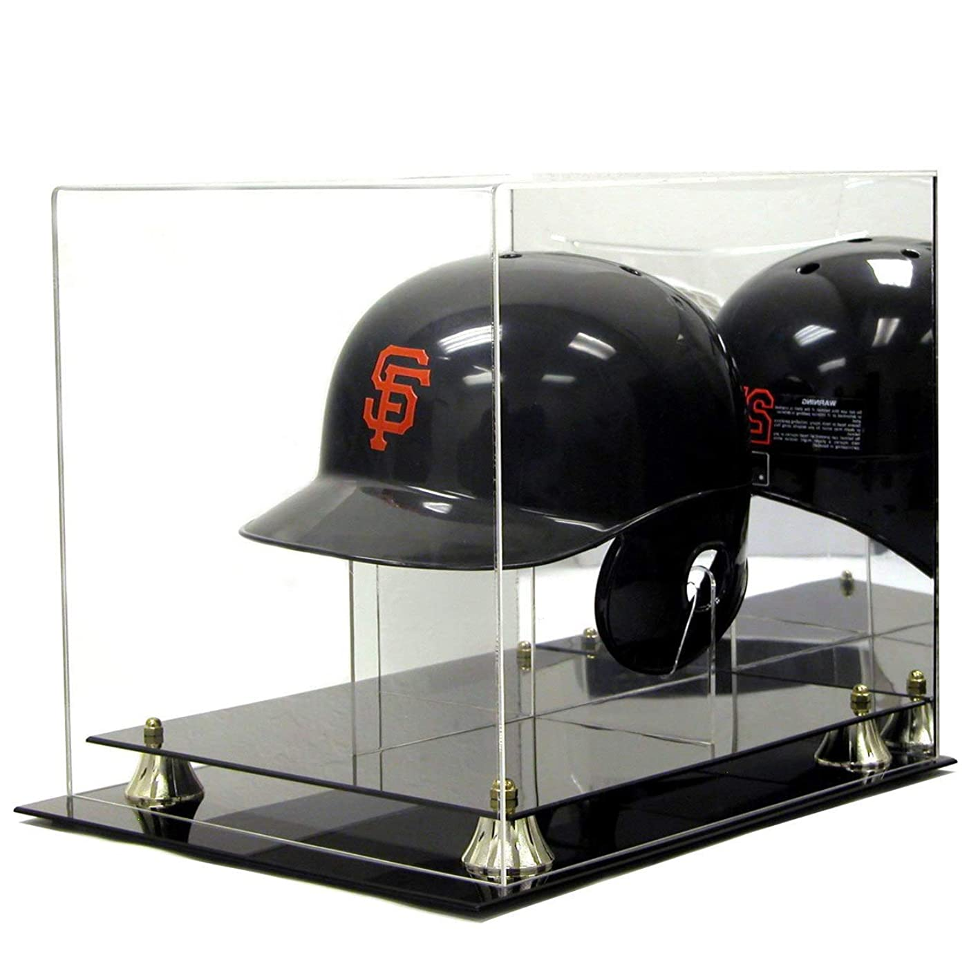 致命的なハブブ大佐バッティング ヘルメット 展示?ディスプレイケース UVプロテクト
