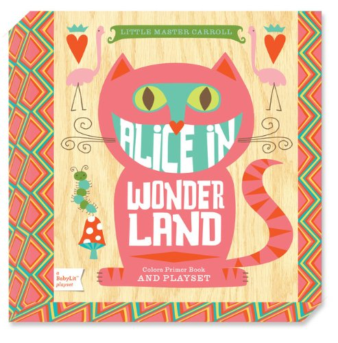 Alice in Wonderland: A BabyLit® Colors Primer Board Book and Playset (BabyLit Playset)
