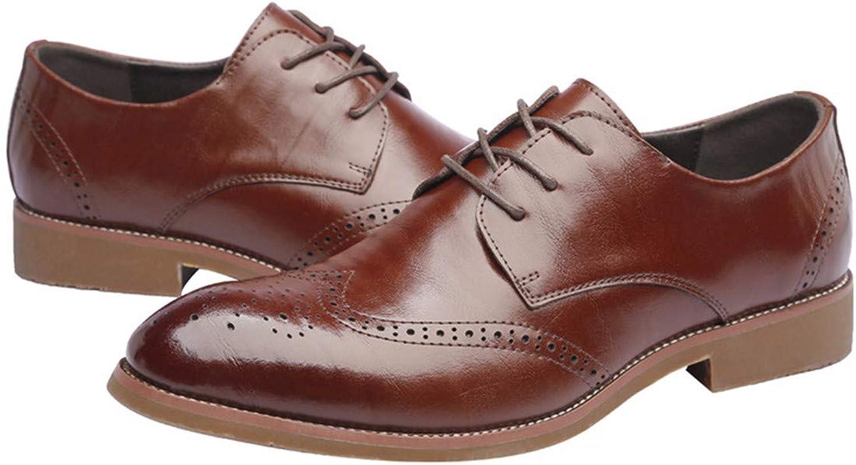 KMJBS Men'S shoes Men'S Casual shoes Summer Leather shoes Sharp Dermis