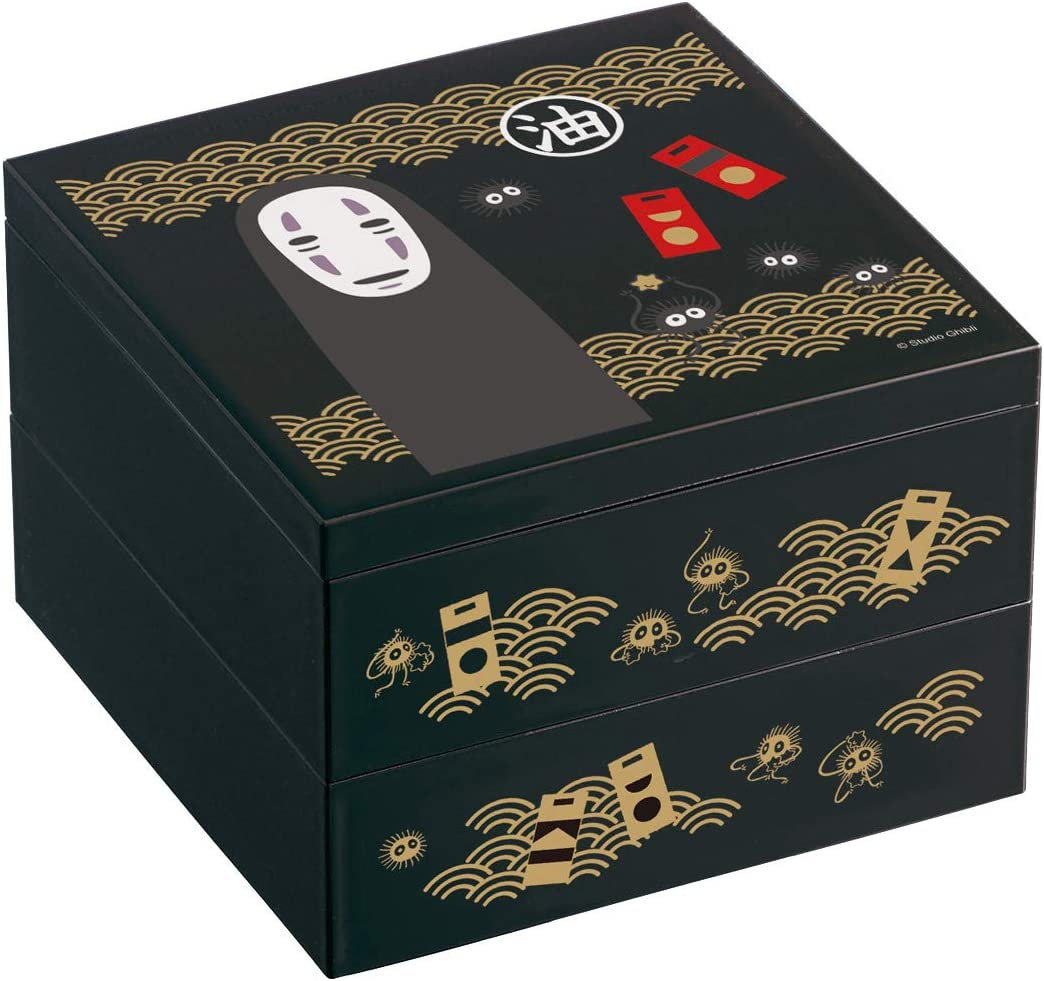 two-stage Lunch Cash special price Container box Kaonashi in Spirited Jap made New arrival Away