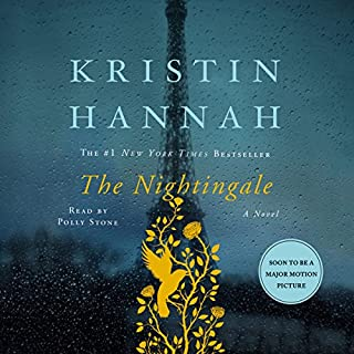 The Nightingale                   By:                                                                                                                                 Kristin Hannah                               Narrated by:                                                                                                                                 Polly Stone                      Length: 17 hrs and 19 mins     50,084 ratings     Overall 4.8