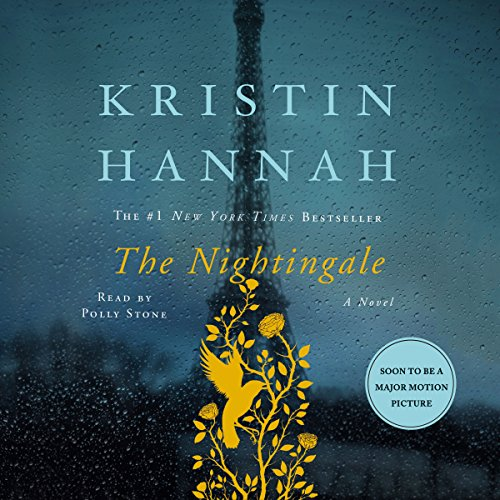 The Nightingale                   By:                                                                                                                                 Kristin Hannah                               Narrated by:                                                                                                                                 Polly Stone                      Length: 17 hrs and 19 mins     50,179 ratings     Overall 4.8