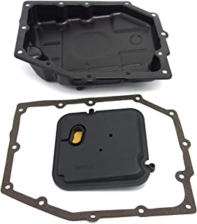 Transmission Oil Pan & Filter OEM & Gaskets(Soft gaskets prevent oil leakage for sealing), KOXUYIM 265-818 B-216 Automatic Transmission Filter Kit for 2003-2012 Chrysler Jeep Dodge Ram