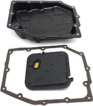 Transmission Oil Pan & Filter OEM & Gaskets(Soft gaskets prevent oil leakage for sealing), KOXUYIM 265-818 B-216 Automatic Transmission Filter Kit for 2003-2012 Chrysler Jeep Dodge Ram