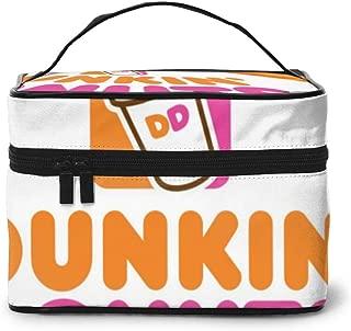 Du-nkin Don-uts Coffee Coolatta Drink Rectangular Cosmetic Travel Bag Makeup Storage Toiletry