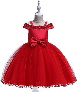 Vestido de princesa de las niñas Sin mangas de los niños muchachas grandes del vestido de la princesa de la decoración flo...