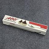 AOOSY 8-teilig Latte Löffel, 22,3 cm Edelstahl Langstiel Rührlöffel Mischen Kaffeelöffel Set für Eistee Dessert Cocktail Eisbecher - 2