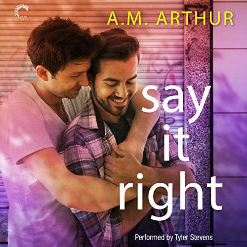 Say It Right audiobook cover art