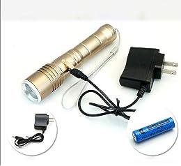 Tactique avec lampe de poche LED lumineux super la