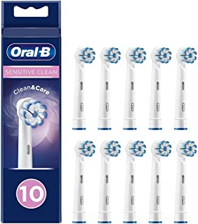 Braun Oral-B 4210201325840 Sensitive Clean tandborsthuvud med ultratunn borsteteknik för vår sanftaste rengöring, 10 stycken