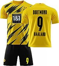 Voetbalpak, Erling Haaland 9 Voetbaltrui, Volwassenen Kinderen Voetbal Trainingspak, Voetbalclub Uniform T-Shirt + Shorts ...