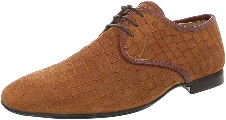 Ital-Design Herrenschuhe Business-Schuhe Budapester Budapester Budapester Stil Glattleder Camel Gr. 42 0dc