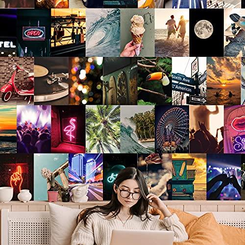 Fotos Pared Decoracion Aesthetic - 75 fotos para decorar tu hogar habitación, paredes dormitorio, oficina juvenil - Imágenes decorativas vinilos de pared viaje travel paisajes - Estilo tumblr estético