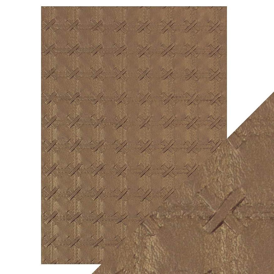 Tonic Studios Craft Paper, Patchwork Parchment, A4