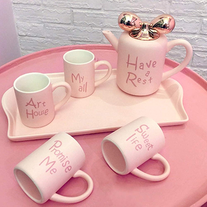 Service à thé créatif en porcelaine avec théière et infuseur - Nom du produit   céramique