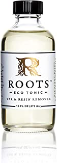 ROOTS Eco Tonic - Tar & Resin Remover - 16 oz Bottle - Resin Remover, Glass Cleaner