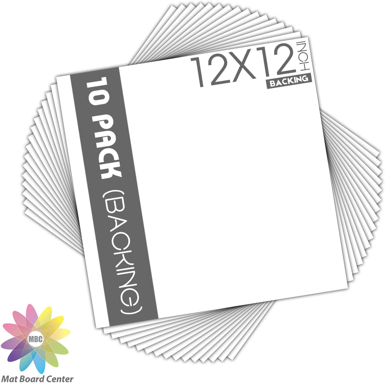 White Backing Boards 10 Pack Photos 11x14 Prints Full Sheet Mat Board Center Prints and More for Art