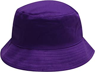 City Hunter Bd2020 Plain Bucket Hat - Purple