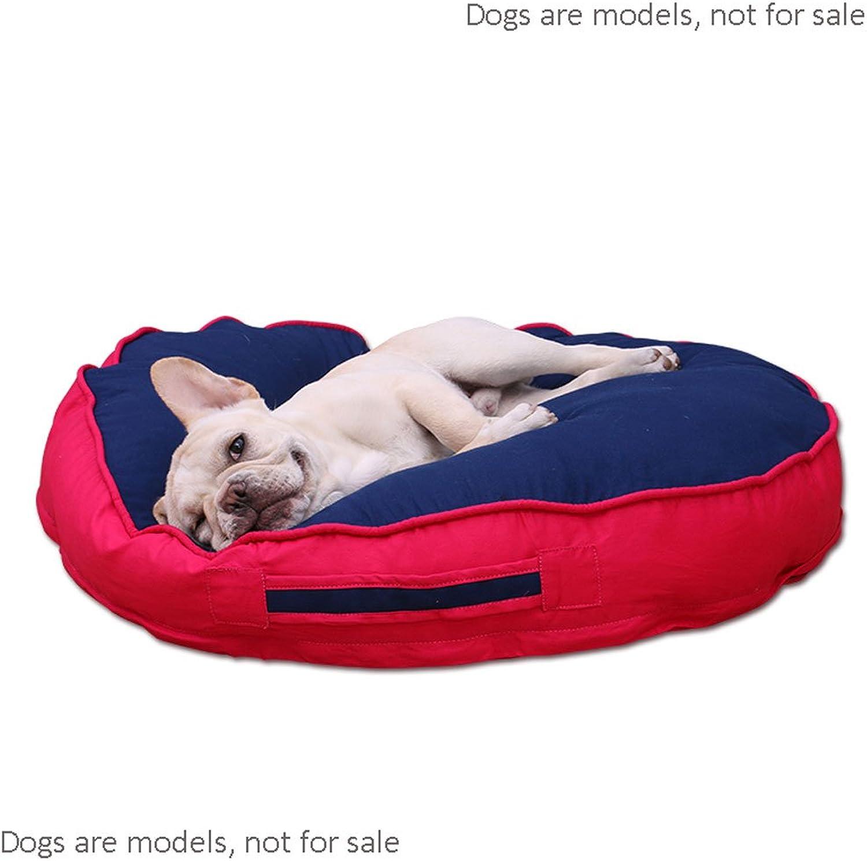 MEI Kennels Kennel Mats, Cogi, Pet Supplies, Sleeping Mats, Fighting Mats, Floor Mats, Dog Cage Cushions, Washable, Mattress, Summer, Pet Supplies (color   bluee, Size   M)